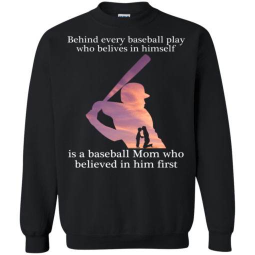 Behind every baseball play who belives in himself