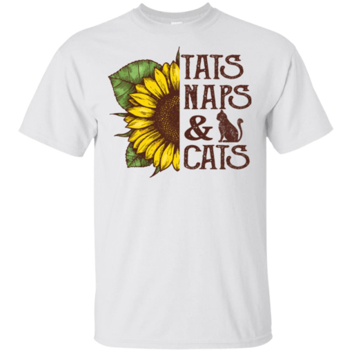 Tats naps and cats sunflower