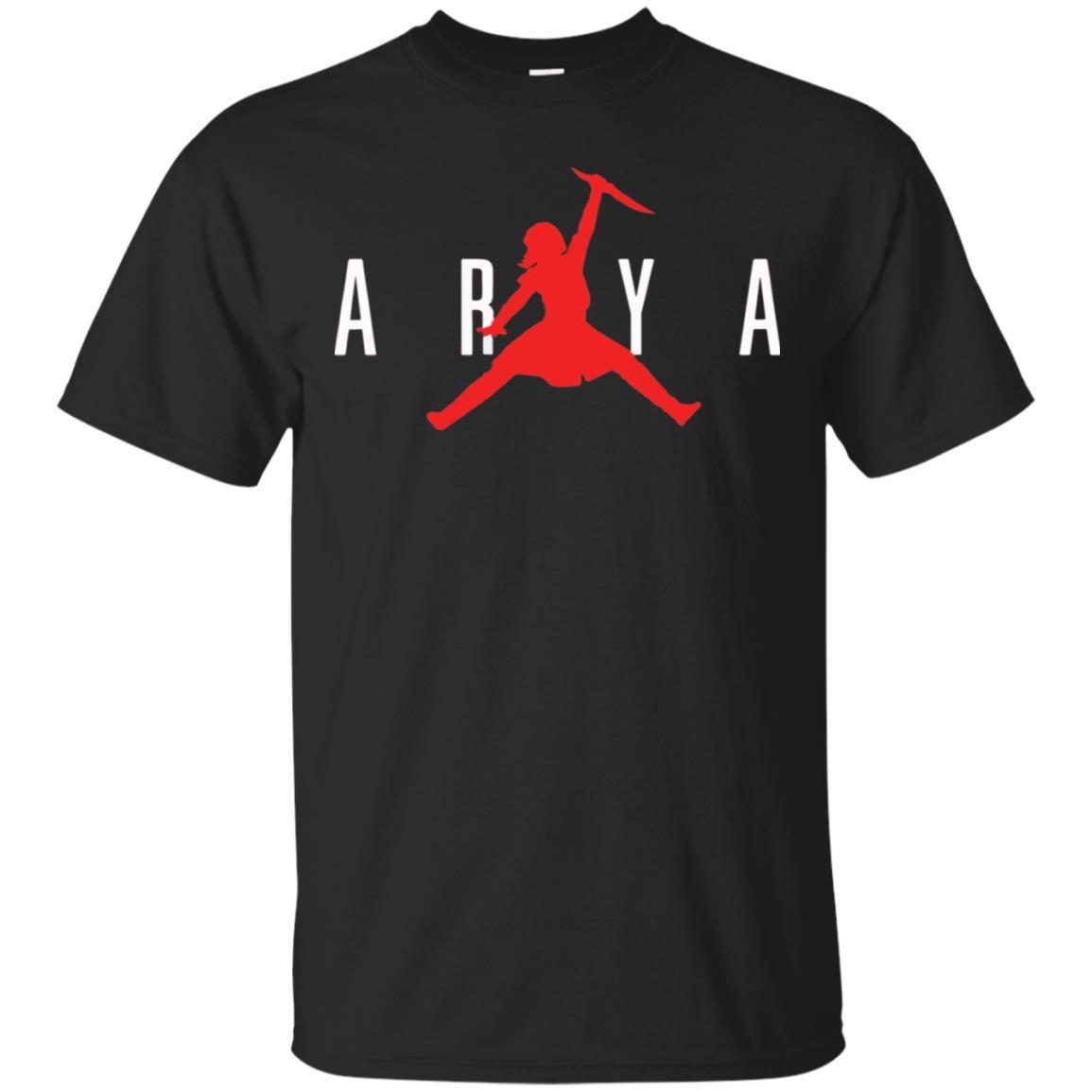 Distinción Amigo planes  Arya Stark Air Jordan shirt, hoodie, long sleeve