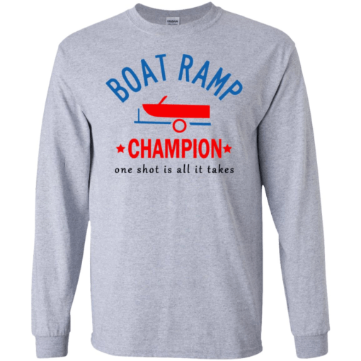Boat Ramp Champion one shot is all it takes