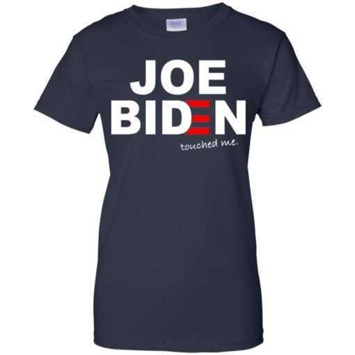 Joe Biden touched me