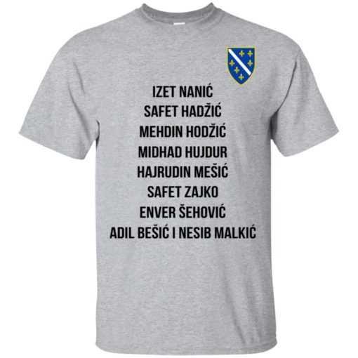 Bosnian war Jusuf Nurkic shirt, hoodie