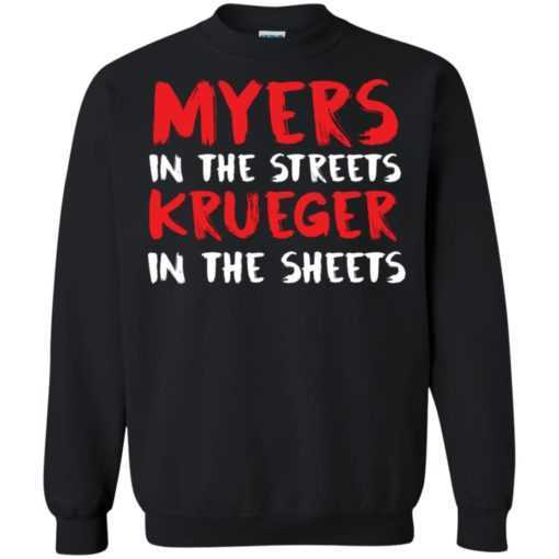 Myers in the streets Krueger in the sheets