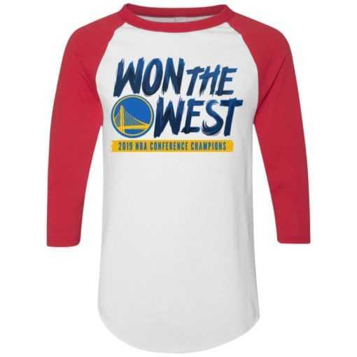 Warriors Won the west shirt