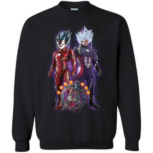 Goku Vegeta Avengers