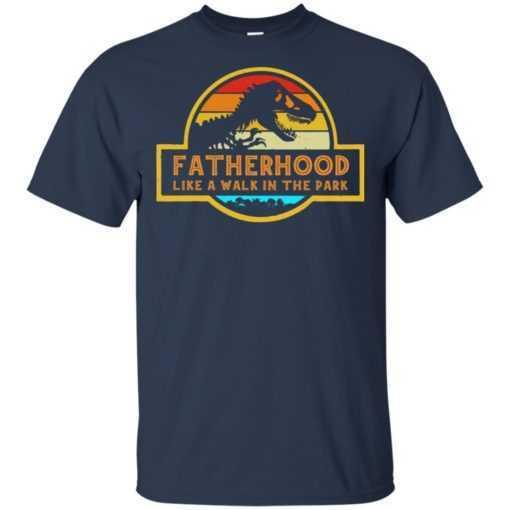 Fatherhood is A Walk in The Park