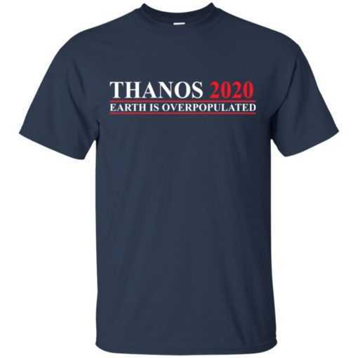 Thanos 2020 earth is Overpopulated
