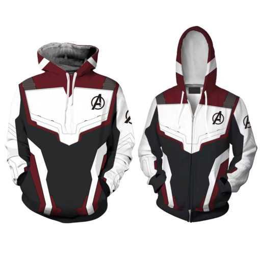 Avengers Endgame Battle Suit Hoodie, Shirt