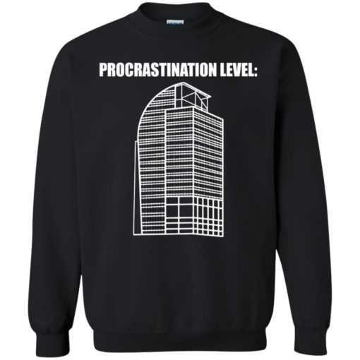 Procrastination level