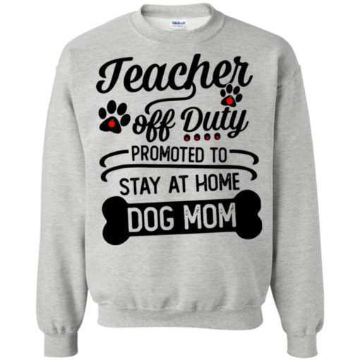 Teacher off duty promoted to stay at home dog Mom