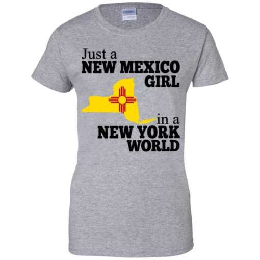 Just a new Mexico girl in a New york world