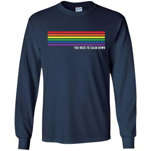 You need to calm down rainbow