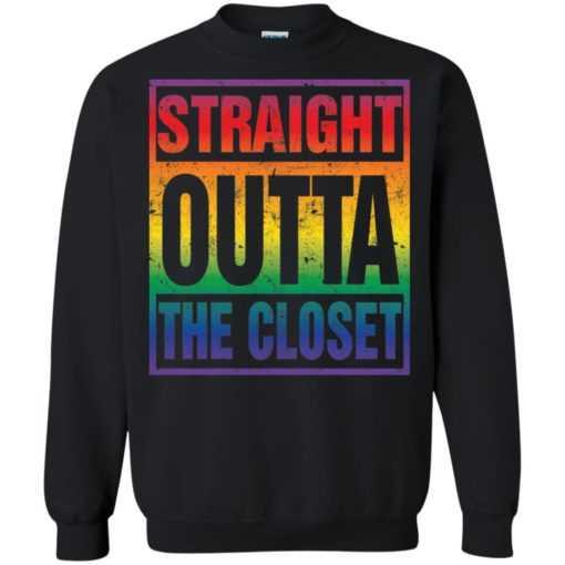LGBT Pride Straight outta the closet shirt