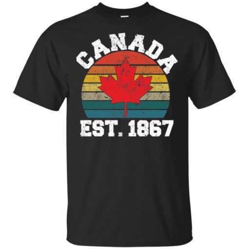 Canada est 1867 vintage