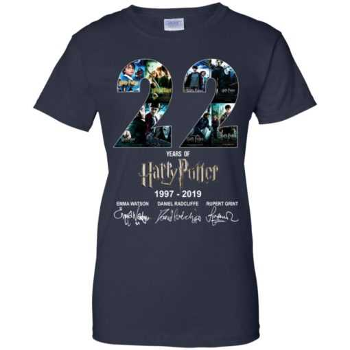 22 Years Of Harry Potter 1997-2019 shirt