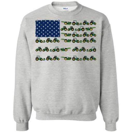 Farmer Jeep American flag shirt