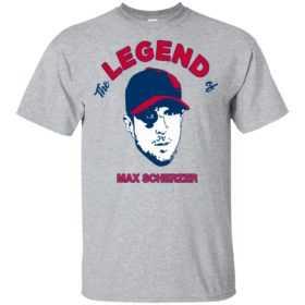 The legend of Max Scherzer shirt