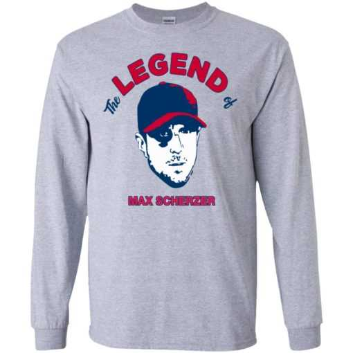 The legend of Max Scherzer shirt