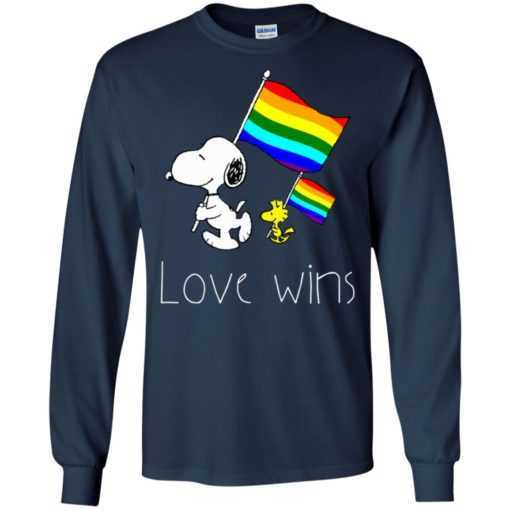 Snoopy Love Wins LGBT Pride shirt
