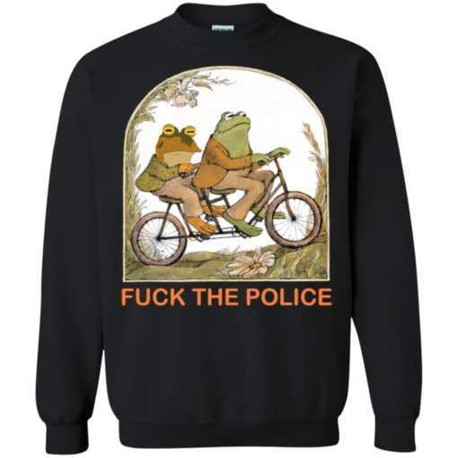 Frog and toad fuck the police