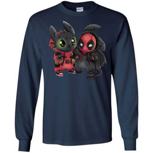Deadpool and toothless