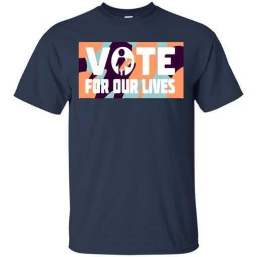 Steve Kerr vote for our lives shirt