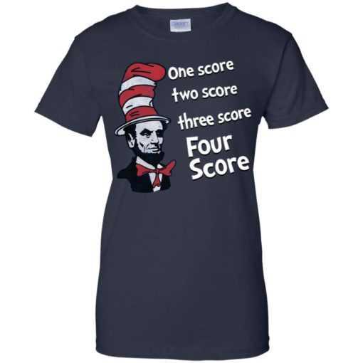 Abraham Lincoln One score two score three score four score
