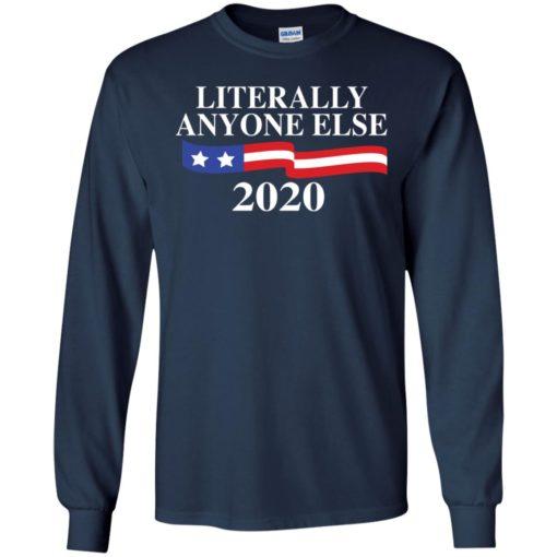Literally anyone else 2020 light