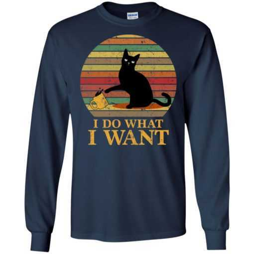 Cat I do what I want shirt