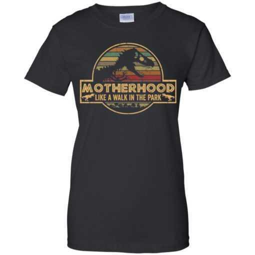 Motherhood like a walk in the park