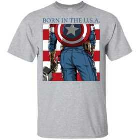 Captain America born in the USA