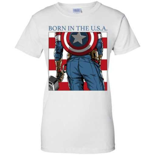 Captain America born in the USA