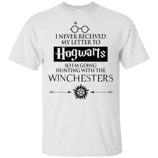 I never received my letter to Hogwarts so I'm going hunting with the Winchesters