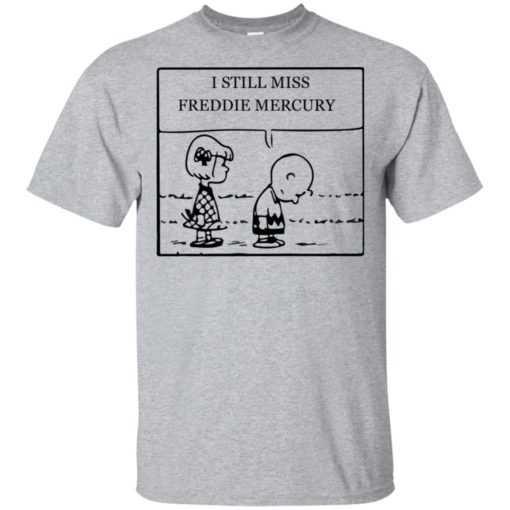 Charlie Brown I still miss Freddie Mercury