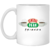 Friends Central Perk 11 oz white mug