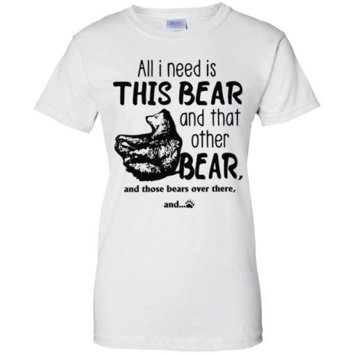 All I need is this Bear and that other bear