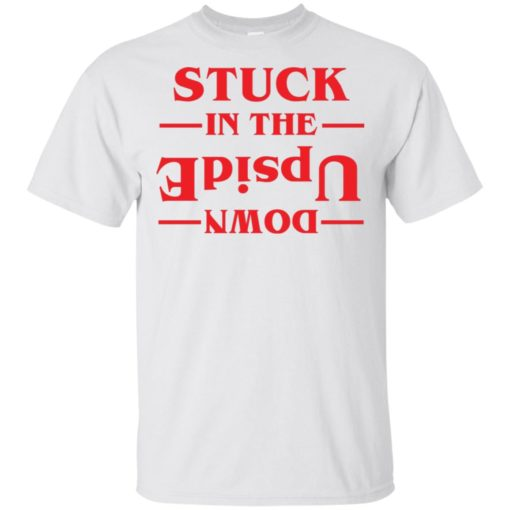 Stuck in the Upside down shirt