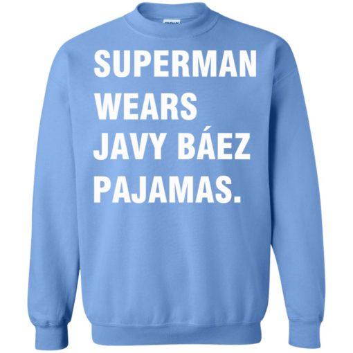 Superman wears Javy Báez Pajamas