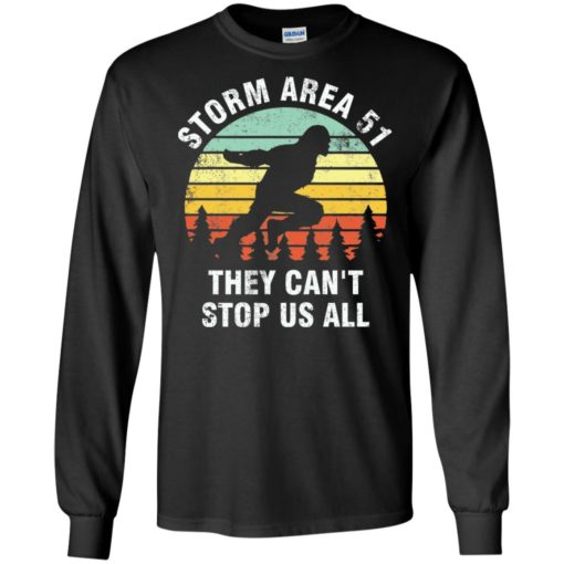 Bigfoot Storm area 51 they can't stop us all
