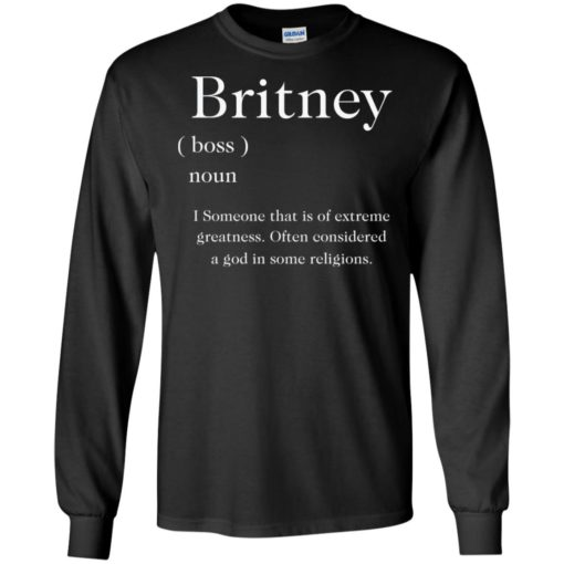 Britney I someone that is of extreme greatness