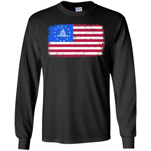 Gadsden Betsy Ross flag shirt