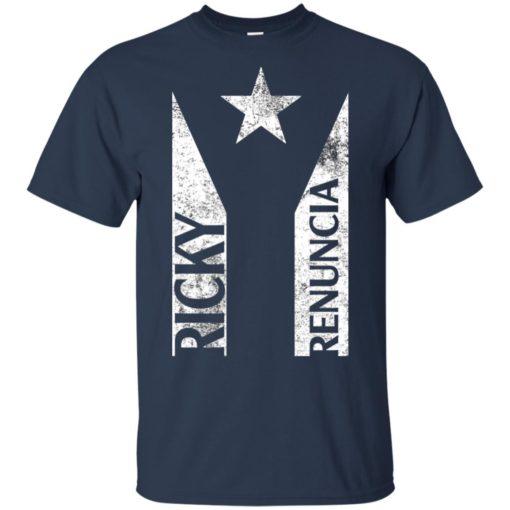 Ricky Renuncia Bandera Negra Puerto Rico Top