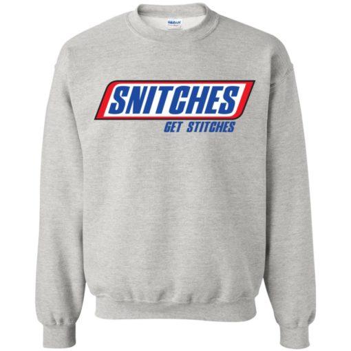 Snitches Get Stitches