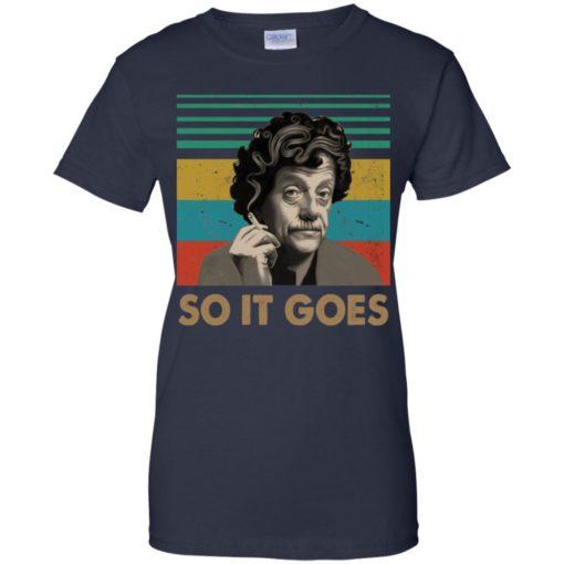 Kurt Vonnegut So it goes shirt