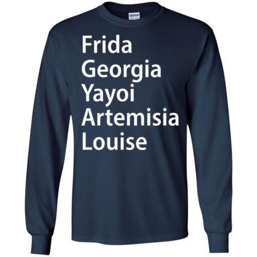 Frida Georgia Yayoi Artemisia Louise