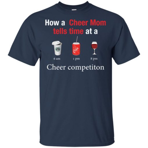 How a Cheer Mom tells time at a Coffee Coca Wine Cheer competition