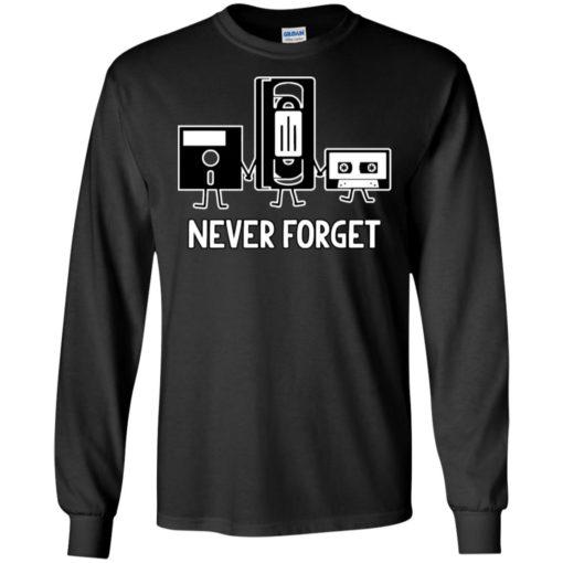 Never Forget Cassette Tape shirt