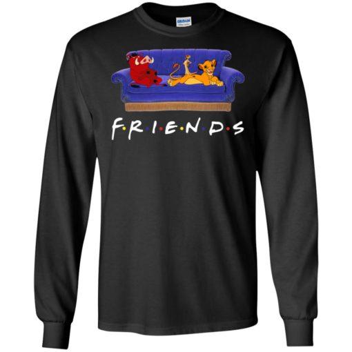 Simba Pumbaa and Timon The Lion King Friends shirt
