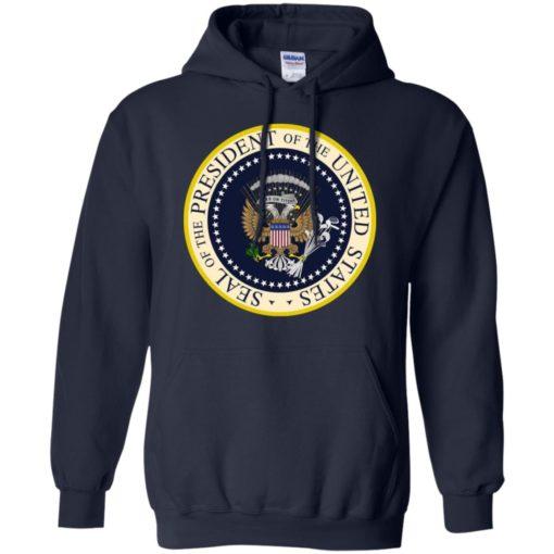 Fake Presidential seal shirt