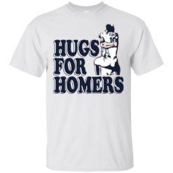 Tony Kemp and Evan Gattis Hug for Homers